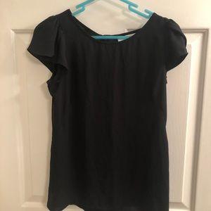 Black Ann Taylor Loft blouse.